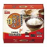 低温製法米のおいしいごはん 宮城県産ひとめぼれ 180g×10パック