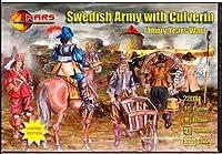 プラスチックモデルFigures戦争年スウェーデンArmy W / Culverin 1/ 72Mars Figures 72031