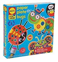 Alex Toys Early Learning Paper Plate Bugs Little Hands by Alex [並行輸入品]
