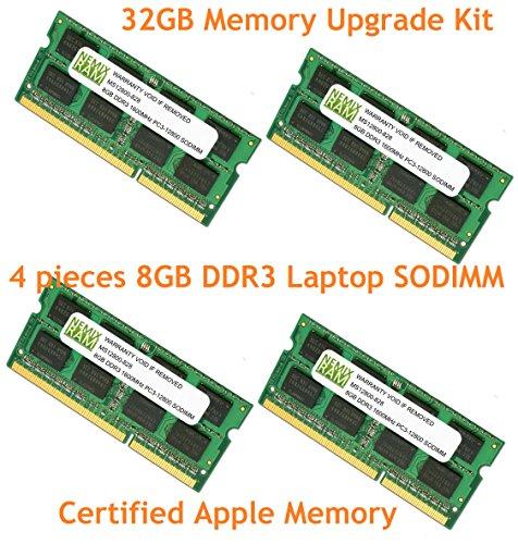 32GB ( 4x 8GB ) ddr31600MHz pc3–12800lメモリRam for APPLE iMac 2012–Mid 2015( 13.214,2) md093ll / A a1418