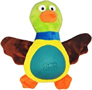 R2P Multi Tex - Fat Plush Duck Toy