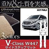 Hotfield ベンツ BENZ Vクラス (W447) サイドステップマット / プロフォンドグレー