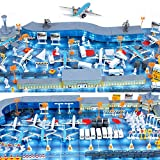 航空機モデルプレイセット空港は、子供のギフトのためのおもちゃを組み立て