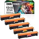 Cool Toner Compatible Toner Cartridge Replacement for HP 131X CF210X 131A CF210A CF211A CF212A CF213A for HP Laserjet Pro 200