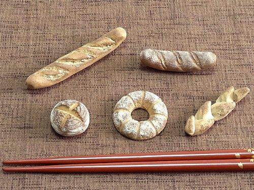 【カフェ和雑貨】パンの箸置き 5種類セット