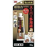 スコッチ 超強力接着剤 プレミアゴールド スーパー多用途2 透明 20g