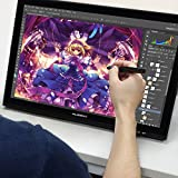HUION 19インチ液タブ ペンタブ用手袋付け プロ向け液晶ペンタブレット GT-190 WindowsとMac対応
