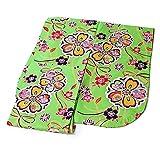 二尺袖着物 和遊日ブランド お仕立て上がりの洗える二尺袖着物 着物単品 (黄緑地 豪華花尽くし/フリーサイズ)