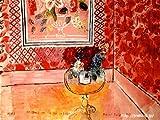 デュフィ 「30歳またはバラ色の人生」 原画同縮尺近似(15号) dufy-01-04