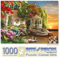 Bits and Pieces - Heaven On Earth 1000 Piece Jigsaw Puzzles for Adults - Each Puzzle Measures 50cm X 70cm - 1000 pc Jigsaws by Artist Alan Giana