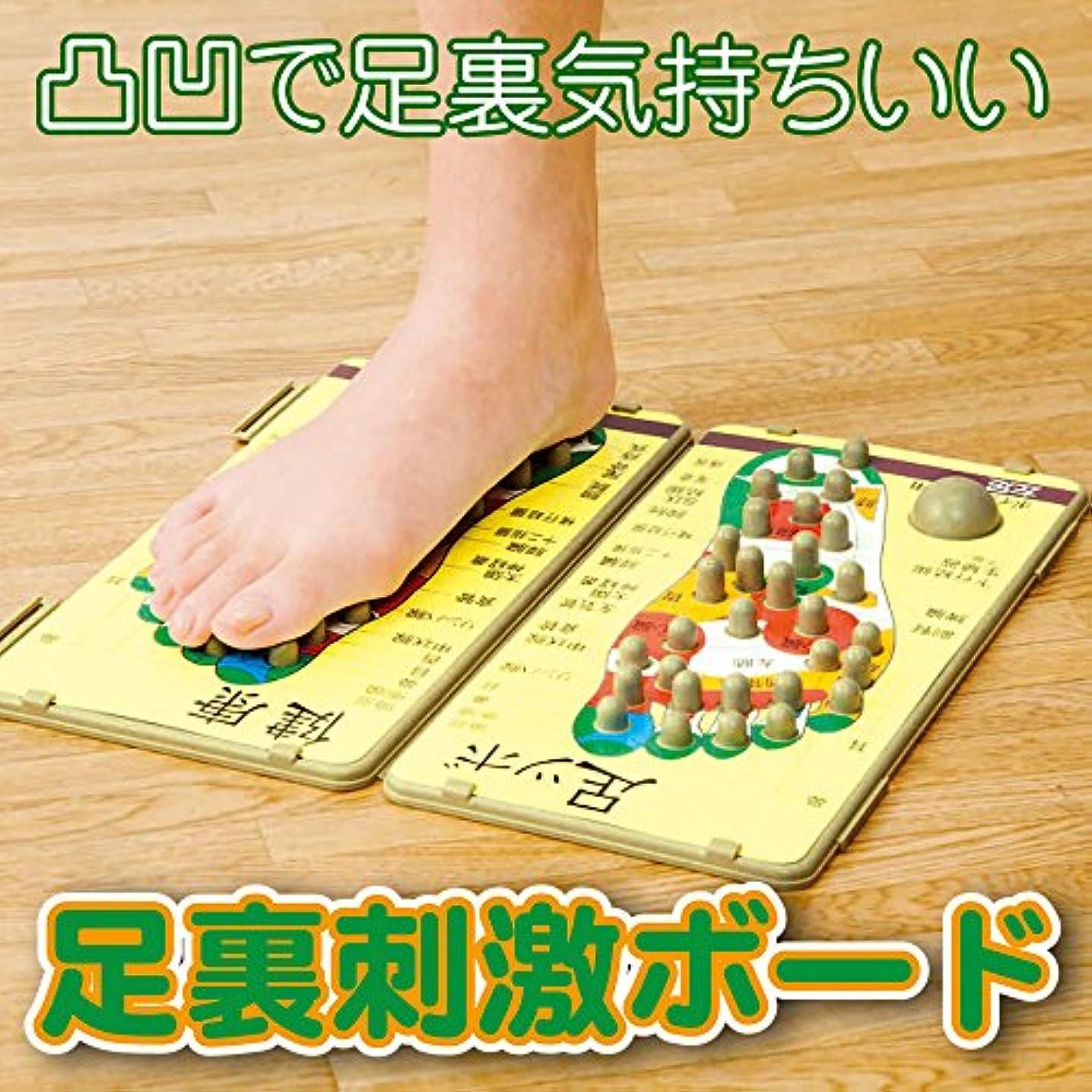 小さい大きい提唱する足裏刺激ボード