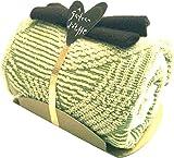 ガトーエトフ タオルケーキ モンブランロール (大判タオルハンカチ×1・ソフトフキン×1) 抹茶 グリーン TGE0753557 G