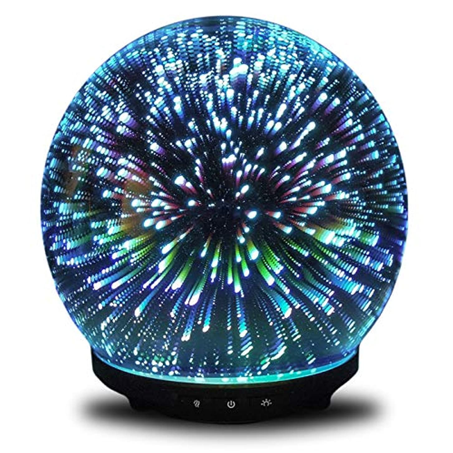 に渡ってプレート感じるORION by Simply Diffusers | Original 3D Aromatherapy Essential Oil Cool Mist Diffuser | 3 Button Technology for...