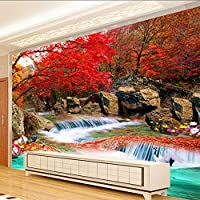 Xueshao カスタム3D壁紙リビングルームテレビの背景自然風景の壁画現代アートの壁紙壁画3D-400X280Cm
