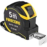 Firecore FC25-50 Measuring Tape Measure, 16.4 ft (5 m), Measure Scale, Nylon Coating, Distance Measurement Instrument, Easy t