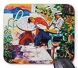 モイズ・キスリング『 サントロペでシエスタ 』のマウスパッド:フォトパッド*(世界の名画シリーズ)