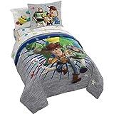Jay Franco Disney Pixar Story 4 All The Toys Full Bed Set, Blue