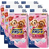デオシート フローラルシャボン レギュラー 84枚入×6個 (ケース販売)
