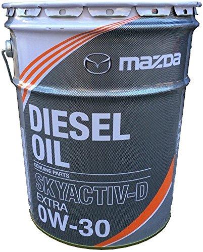 MAZDAマツダ ディーゼル エクストラ スカイアクティブD用 0W-30 20L K020-W0-537E