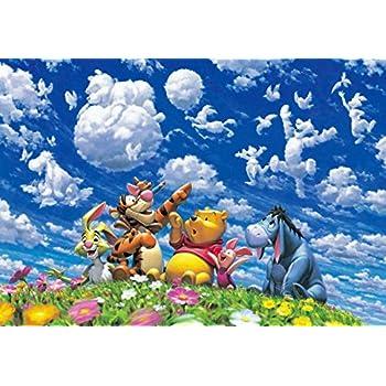 500ピース ジグソーパズル くまのプーさん ブルースカイ ファンタジー ぎゅっとシリーズ【ピュアホワイト】(25x36cm)