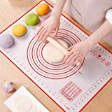 Large Thick Non-Stick Silicone Baking Mat – Heat Resistant | BPA Free | Easy To Clean Silicone Mat | Counter Mat/ Dough Rolli