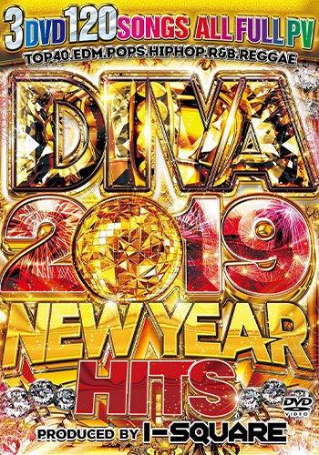 初収録の超絶最速PV満載 流行最先端 DIVA 2019 NEW YEAR HITS - I-SQUARE 3枚組
