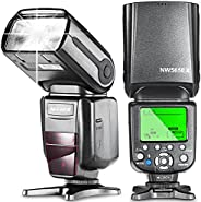 Neewer NW565EX E-TTL Slave Flash Speedlite with Flash Diffuser for Canon 5D Mark III,5D Mark II,7D,30D,40D,50D