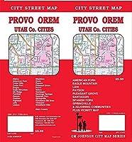 Provo/Orem/Utah County Utah Street Map [並行輸入品]