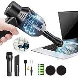 USB充電式PCキーボード掃除機 多機能ミニ掃除機ノートパソコ除塵 小型卓上クリーナー エアダスター 集塵装置 掃除 強…