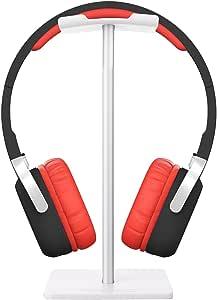 ヘッドホンスタンド VersionTek アルミニウム合金製 簡単組み立て式 収納保管 ディスプレイ ヘッドセットスタン ド ヘッドホンハンガー Sony Beats ロジクール KingTopなど多様式ヘッドホン対応 ホワイト