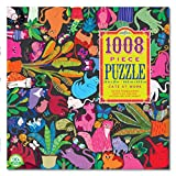 eeBoo Cats at Work Jigsaw Puzzle for Adults, 1000 Pieces