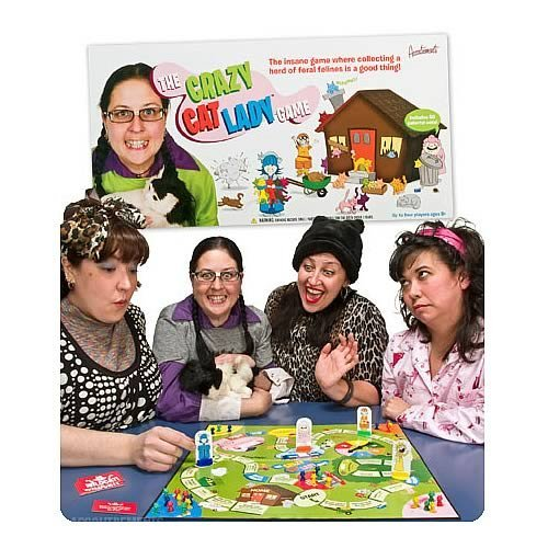 Crazy Cat Lady Board Game【直輸入品】