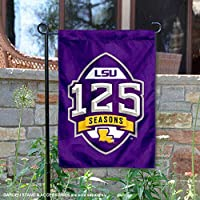 CollegeフラグとバナーCo。Louisiana State LSU Tigers 125 Football Seasons Garden Flag