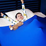Huggaroo Pouch - Sensory Compression Bed Sheet | Weighted Blanket Alternative That is Light, Breathable, Silky, Strong and Co