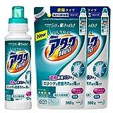 【まとめ買い】ウルトラアタックNeo 洗濯洗剤 濃縮液体 本体 400g+詰替用 360g×2個