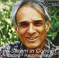 De Saram in Concert, Vol.1