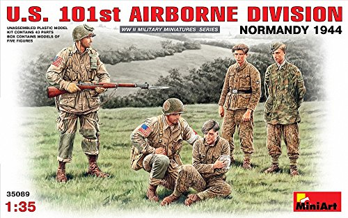 ミニアート 1/35 アメリカ軍第101空挺師団 ノルマンディ1944
