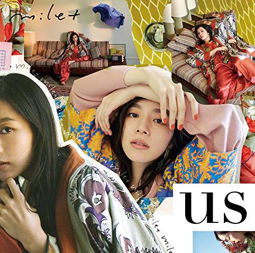 【Amazon.co.jp限定】us (初回生産限定盤) (DVD付) (ジャケットサイズステッカー付)