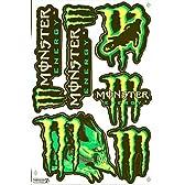 モンスターエナジー MONSTER ENERGY ステッカー セット Sticker Set グリーン Green TS-27