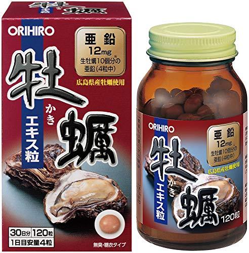 オリヒロ 新牡蠣エキス粒 120粒 B000FQS2H2 1枚目