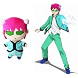 Saiki Kusuo Plush Toy, Anime The Disastrous Life of Saiki K. Cosplay Cute Kawaii Doll Plush Stuffed Pillow Cushion for Home D