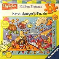 Ravensburger Hidden画像パズルSomething 's Fishy 35ピースパズル