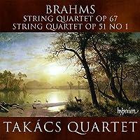 Brahms: String Quartets Op.67, Op.51 No.1 (2008-11-11)