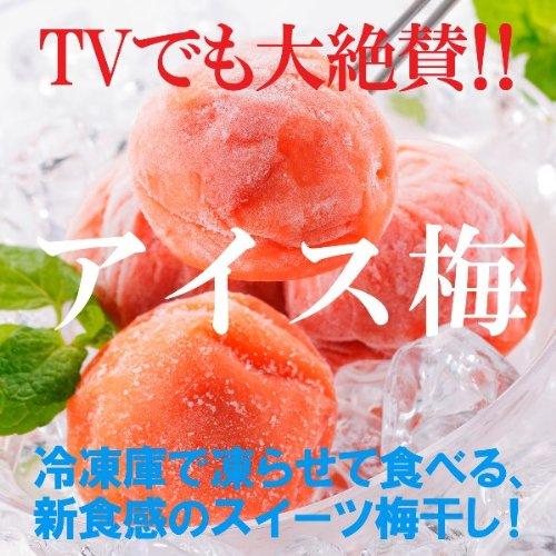 凍らせて食べるスイーツ梅干 紀州産 南高梅 アイス梅  (9粒入)