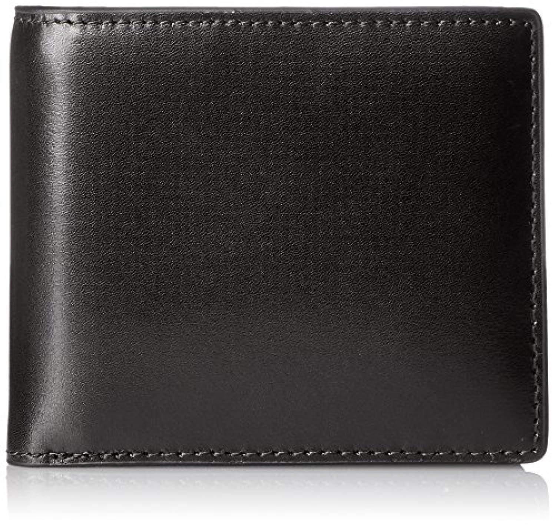 [セパージュ] 財布 ボックスカーフレザー 二つ折りウォレット カード大容量収納 メンズ/レディース NBAA033NT