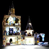 BRIKSMAX Led Lighting Kit for Harry Potter Hogwarts Clock Tower - Compatible with Lego 75948 - Not Include The Lego Set
