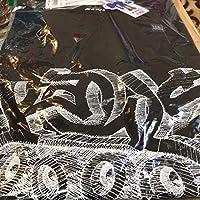 UT X KAWS コラボ 半袖 tee オンライン 限定 サイズ セサミストリートXXL キャラクター ユニクロ カウズ ブラック