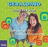 Geraldino und die Plomster - Zahnspangenlilli & Brillenschlagenwerner / CD . Musik fuer Kids