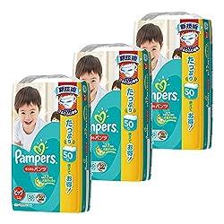 【ケース販売】 パンパース おむつ ビッグサイズ (12~22kg) さらさらパンツ 150枚(50枚×3パック)