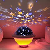 UFO Night Light for Kids, Galaxy Starry Projector, Space Universe Night Light, Galaxy Projector, Stellar Lamp for Internation